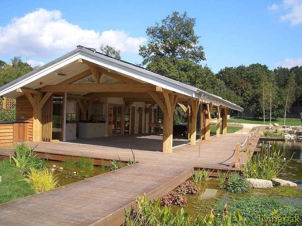 Oak Framed Garden Building Service