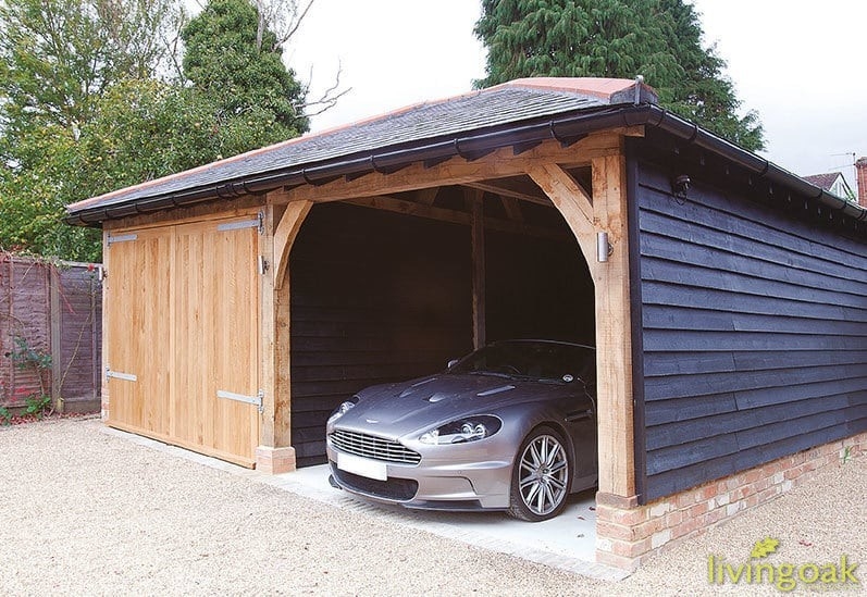 Oak Garage Building Service
