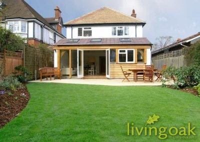 Living Oak Rear Extension Thames Ditton