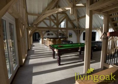 Living Oak Family Barn Internal