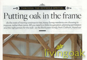 oak frame Surrey life