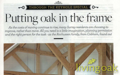 Putting Oak Frame, in the frame – Surrey Life Magazine