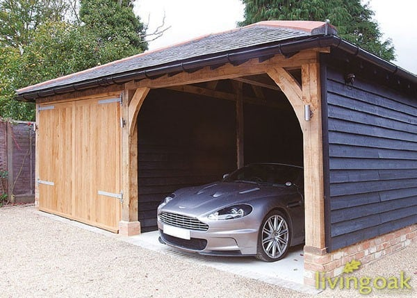 Oak Garage Building Service
