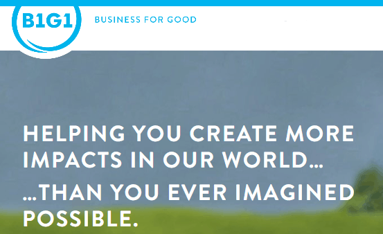 Business for Good – B1G1 – helping worthy causes
