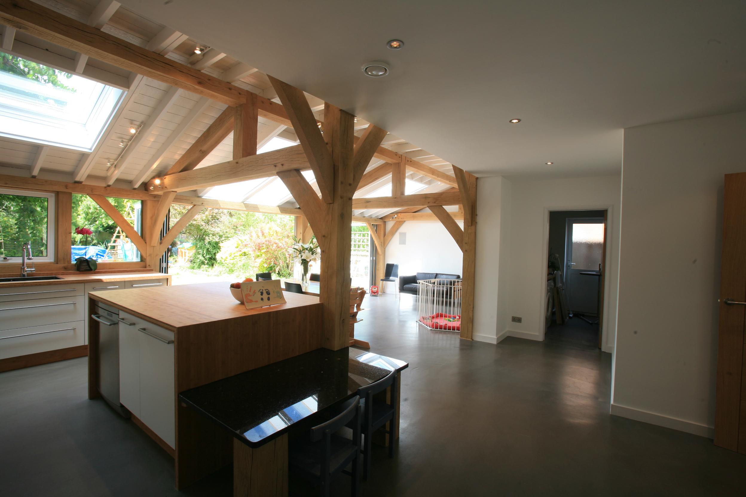 Oak Frame extension