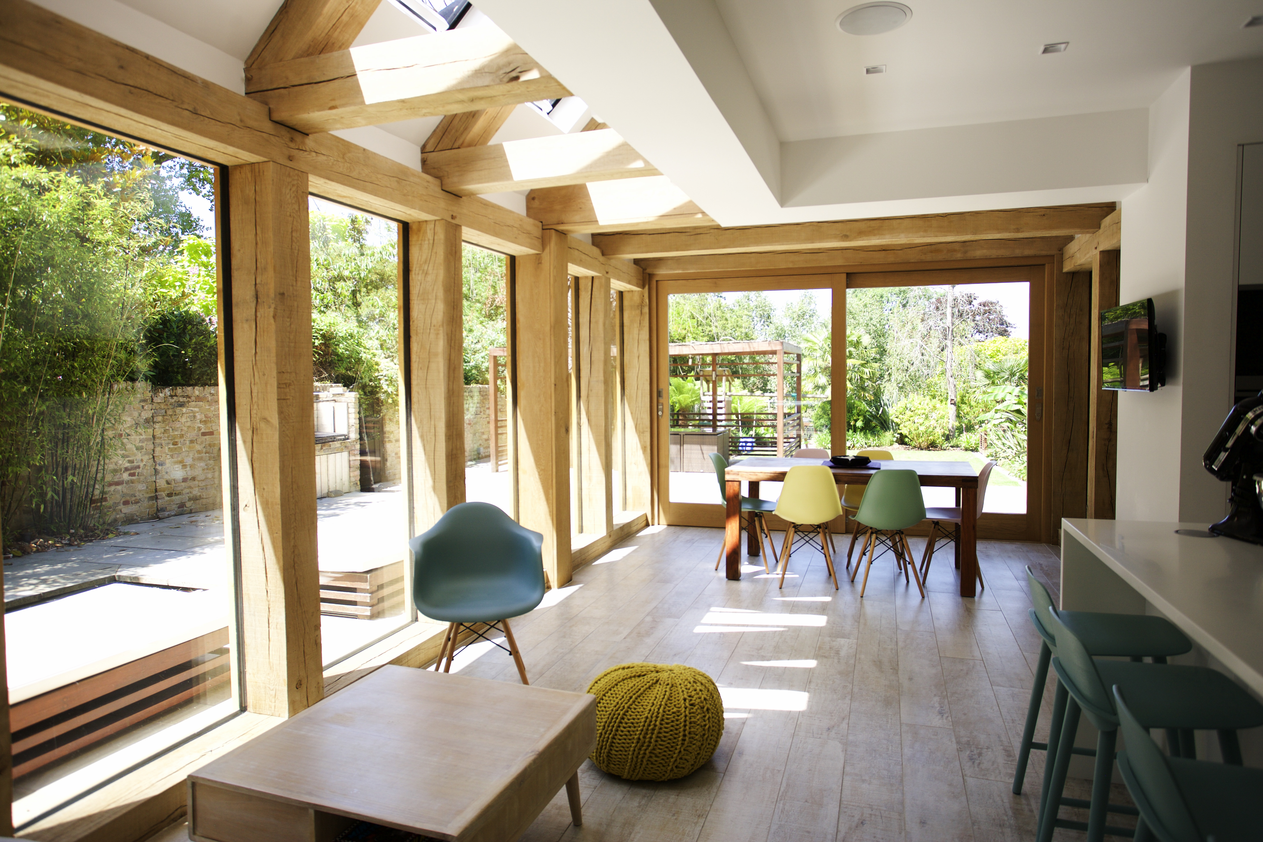 Bespoke oak frame extension
