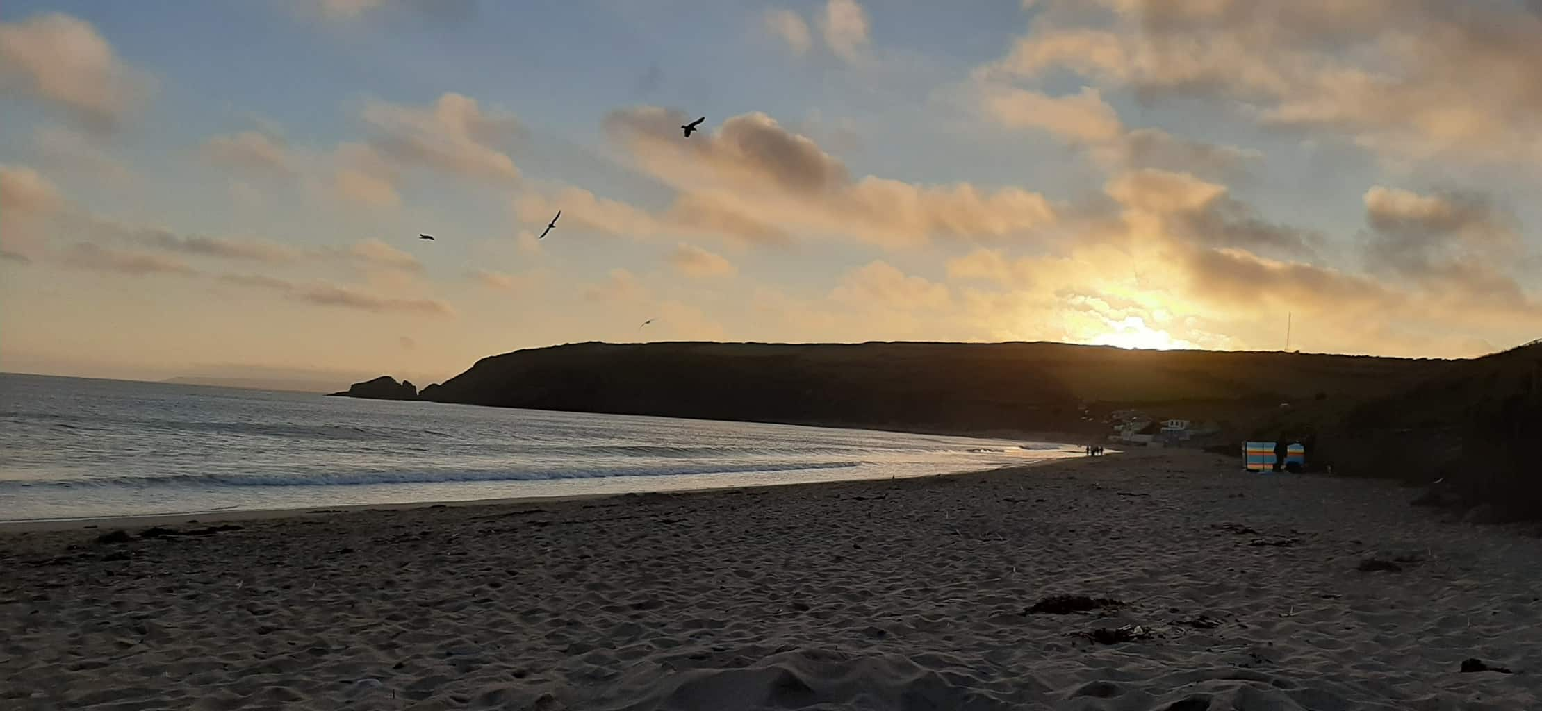 Cornish sunset - Connecting with nature