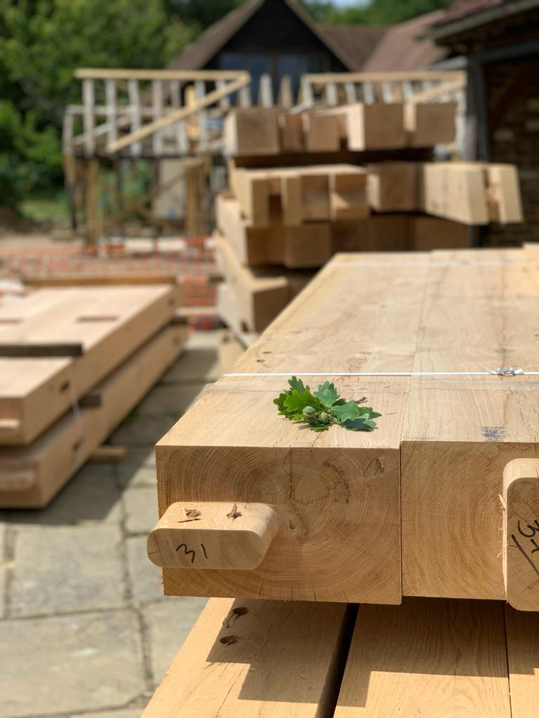oak frame in Surrey