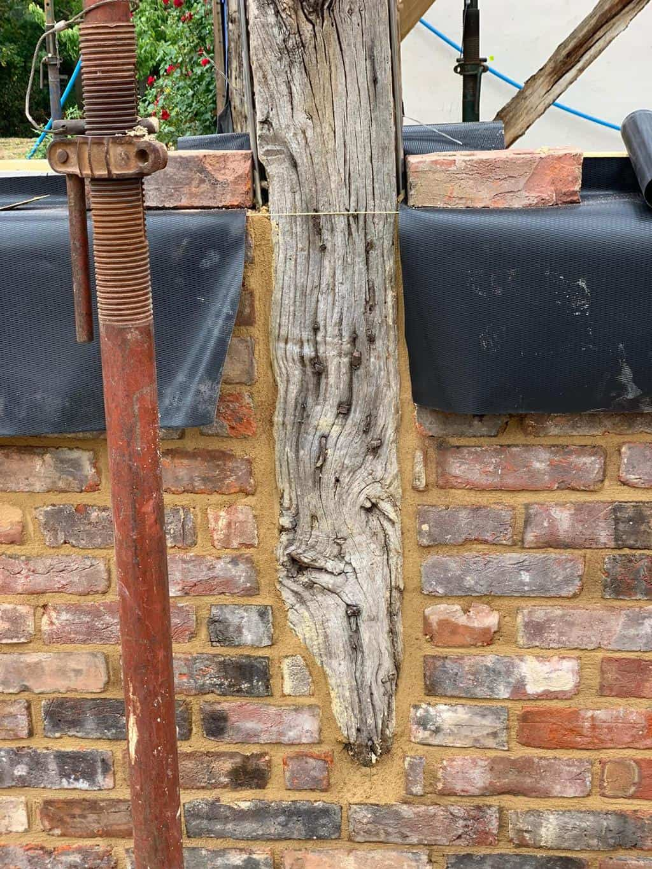 Old oak frame in Surrey