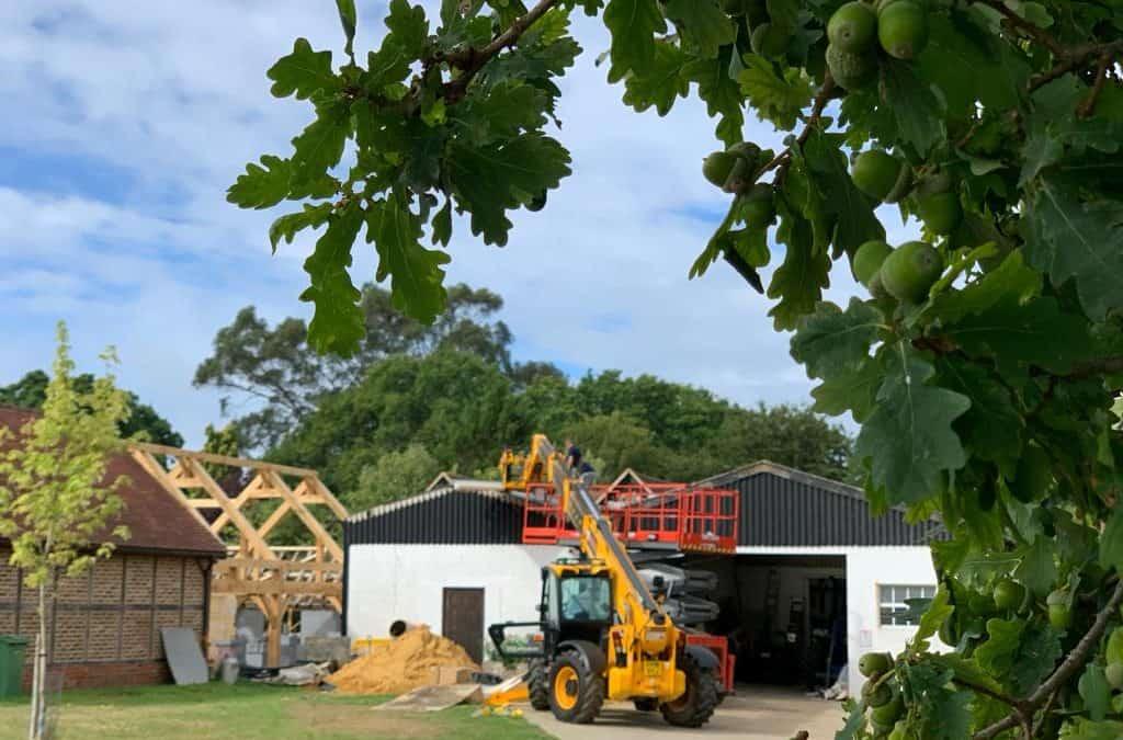 Flying Pig Sty – Progress on-site in Surrey